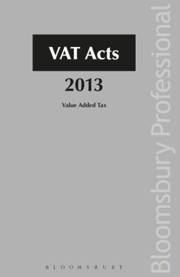 Vat Acts 2013: A Guide to Irish Law