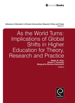 As the World Turns: Implications of Global Shifts in Higher Education for Theory, Research and Practice