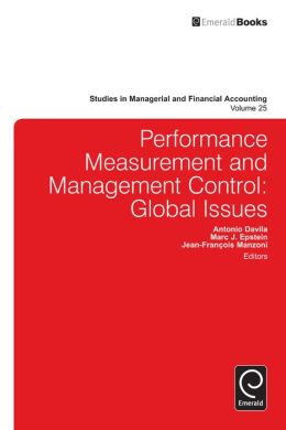 Performance Measurement and Management Control: Global Issues
