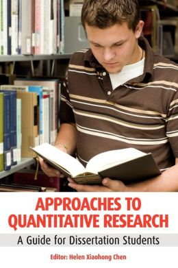 Approaches to Quantitative Research: A Guide for Dissetation Students