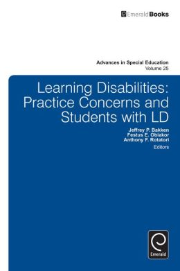 Learning Disabilities: Practice Concerns and Students with LD