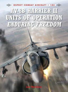 AV-8B Harrier II Units of Operation Enduring Freedom