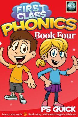 First Class Phonics - Book 4