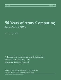 50 Years of Army Computing: From ENIAC to MSRC
