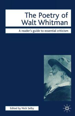 Poetry of Walt Whitman
