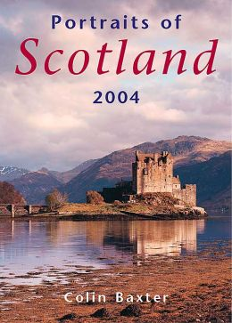 2004 Portraits of Scotland by Colin Baxter Weekly Engagement Calendar