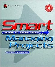 Smart Things to Know about,Smart Things to Know about Managing Projects