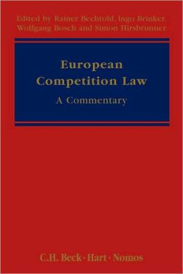 European Competition Law: A Commentary