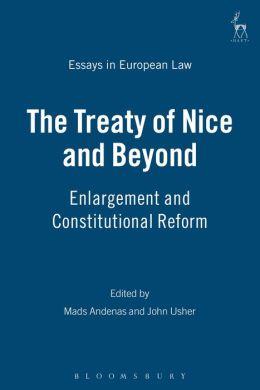 The Treaty Of Nice And Beyond