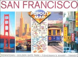 San Francisco, California PopOut Map