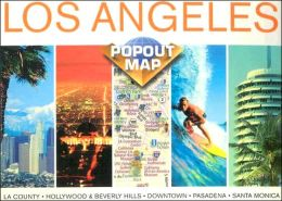 Los Angeles, California PopOut Map