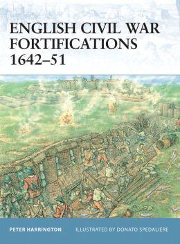 English Civil War Fortifications 1642-51 (Fortress Series)