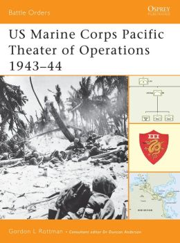 US Marine Corps Pacific Theater of Operations: 1943-44 ( Battle Orders Series)