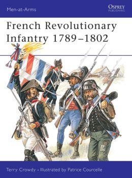 French Revolutionary Infantry 1789-1798