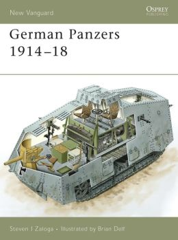 German Panzers 1914 - 18