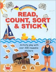 Read, Count, Sort and Stick: Activity Play with over 200 Reusable Stickers