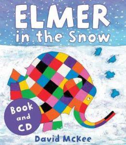 Elmer in the Snow (Book & CD)