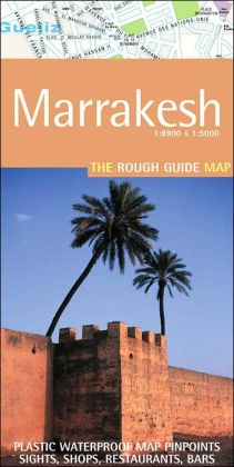 The Rough Guide to Marrakesh Map
