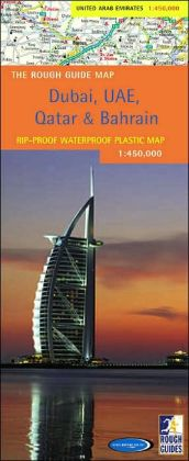 The Rough Guide to Dubai, United Arab Emirates, Qatar and Bahrain Map