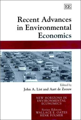 Recent Advances in Environmental Economics