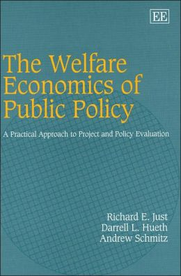 Welfare Economics of Public Policy: A Practical Approach to Project and Policy Evaluation