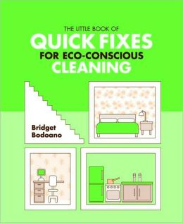 The Little Book of Quick Fixes for Eco Conscious Cleaning