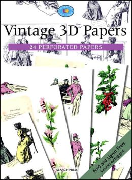 Vintage 3D Papers