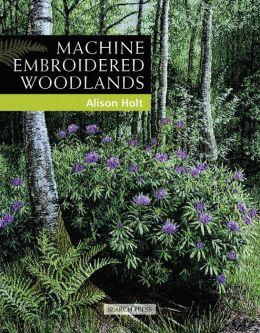 Machine Embroidered Woodlands