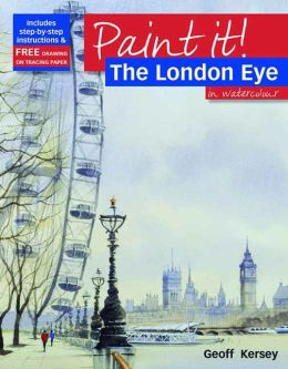 The London Eye in Watercolour