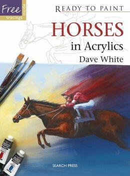 Horses in Acrylics