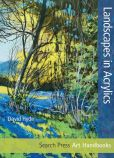 Book Cover Image. Title: Landscapes in Acrylics, Author: David Hyde