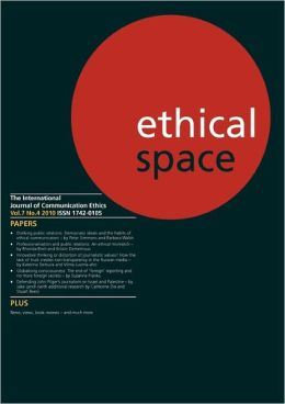 Ethical Space Vol.7 Issue 4