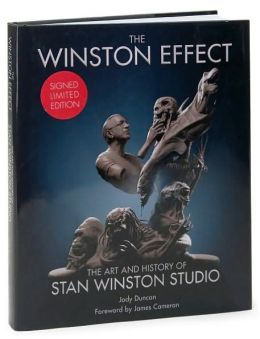 The Winston Effect: The Art and History of Stan Winston Studio Limited Edition Variant Cover - Winston Statue