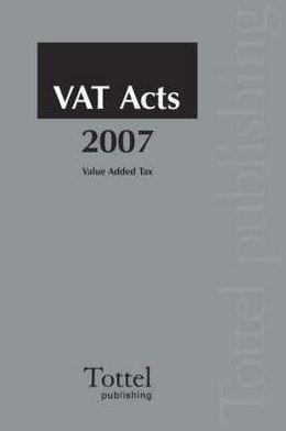 Vat Acts 2007