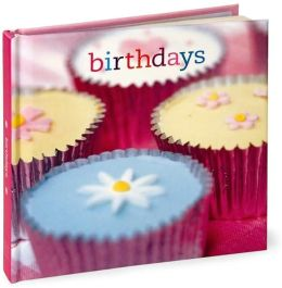 Cupcakes Birthday Book