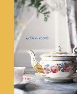 Teapot Mini Address Book