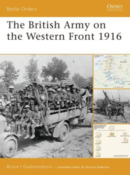 British Army on the Western Front 1916