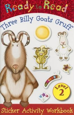 Three Billy Goats Gruff Sticker Activity Workbook