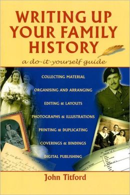 Writing up Your Family History
