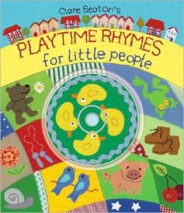 Playtime Rhymes for Little People [With CD]