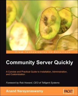 Community Server Quickly