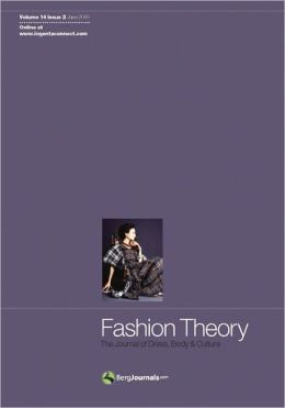 Fashion Theory Volume 14 Issue 2: The Journal of Dress, Body and Culture