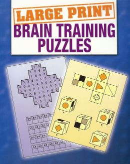 Large Print Braintraining Puzzles