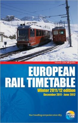 European Rail Timetable Winter 2011/12: Special seasonal editions of our hugely popular European timetable