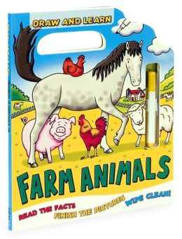 Draw and Learn: Farm Animals