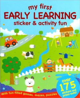 My First Early Learning Sticker and Activity Fun