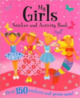 My Girls Sticker and Activity Book