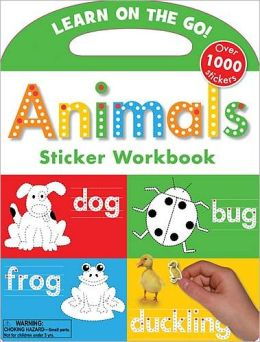 Animals Sticker Workbook