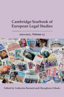 Cambridge Yearbook of European Legal Studies, 2010-2011