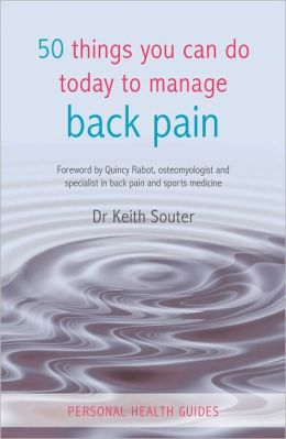 50 Things You Can Do Today to Manage Back Pain
